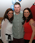 Stephen Fallon celebrates his 30th in the Thatch...(Photo credit should read Jenny Matthews/NEWSFILE)...