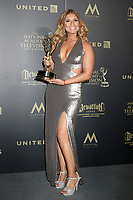LOS ANGELES - APR 30:  Gaby Natale, Outstanding Daytime Talent in a Spanish Language Program, SuperLatina in the 44th Daytime Emmy Awards Press Room at the Pasadena Civic Auditorium on April 30, 2017 in Pasadena, CA