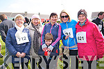 Ballybunion Half Marathon : Taking part in the Ballybunion Half marathon race on Saturday last were Helen, Eileen, Claire & Roisin Kenny & Margaret Flavin & Stephen O'Driscoll in front.