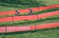 eventual race winner Marianne Vos (NED/Waow Deals)<br /> <br /> Elite Women's Race<br /> GP Mario De Clercq / Hotond cross 2018 (Ronse, BEL)