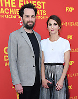 30 May 2018 - Burbank, California - Matthew Rhys, Keri Russell. FX's &quot;The Americans&quot; FYC Series Finale Event held at Saban Media Center at the Television Academy. <br /> CAP/ADM/BT<br /> &copy;BT/ADM/Capital Pictures