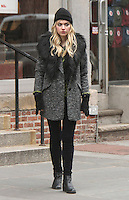 NEW YORK, NY - DECEMBER 20: Imogen Poots on the set of Are We Officially Dating. New York City. December 20, 2012. Credit: RW/MediaPunch Inc. /NortePhoto