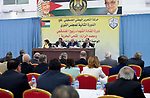 Palestinian President Mahmoud Abbas attends the meeting of Fatah Movement Revolutionary Council in the West Bank city of Ramallah on October 5, 2017. Photo by Osama Falah