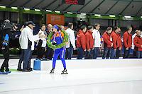 SCHAATSEN: HEERENVEEN: 24-01-2016, IJsstadion Thialf, NK Allround, ©foto Martin de Jong