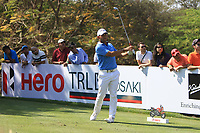 Pablo Larrazabal (ESP) in action on the 11th during Round 3 of the Hero Indian Open at the DLF Golf and Country Club on Saturday 10th March 2018.<br /> Picture:  Thos Caffrey / www.golffile.ie<br /> <br /> All photo usage must carry mandatory copyright credit (&copy; Golffile | Thos Caffrey)