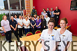 Kerry General Hospital staff who are working over Christmas fin foreground are Melissa Foley and Breda Griffin who work in the Muckross ward.