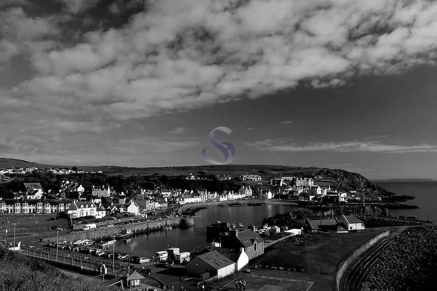 Portpatrick and Portpatrick Harbour, Galloway, South-West Scotland