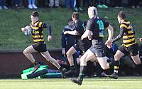 Saturday 17th February 2018   RBAI vs Sullivan<br /> <br /> Bradley McNamara during the Ulster Schools' Cup Quarterfinal between RBAI and Sullivan at Cranmore Park, Belfast, Northern Ireland. Photo by John Dickson / DICKSONDIGITAL