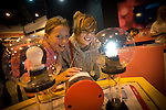 Skills Active Cymru<br /> Students Melodie Shiels &amp; Olivia Watkins from Bridgend Christian school.<br /> Cardiff International Arena<br /> 23.10.14<br /> &copy;Steve Pope-FOTOWALES