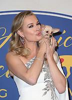 POMONA, CA - FEBRUARY 10: Rebecca Romijn, at the Hallmark Channel's 2019 American Rescue Dog Show at Fairplex in Pomona, California on February 10, 2019. Credit: Faye Sadou/MediaPunch