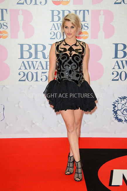 WWW.ACEPIXS.COM<br /> <br /> February 25 2015, London<br /> <br /> Ashley Roberts arriving at the Brit awards 2015 at the O2 Arena on February 25 2015 in London<br /> <br /> By Line: Famous/ACE Pictures<br /> <br /> <br /> ACE Pictures, Inc.<br /> tel: 646 769 0430<br /> Email: info@acepixs.com<br /> www.acepixs.com