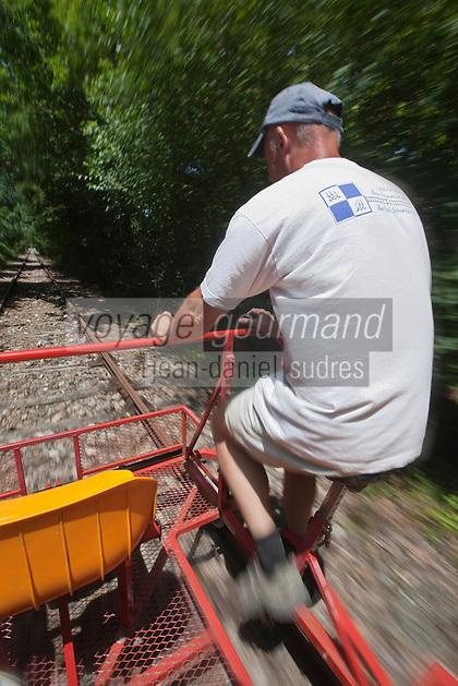 Europe/France/Aquitaine/24/Dordogne/Corgnac-sur-L'Isle:Vélorail du Périgord Vert