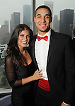 Erica Salgado and Nick Johnson at the Memorial Hermann Circle of Life Gala at the Hilton Americas Hotel Saturday April 11, 2015.(Dave Rossman photo)