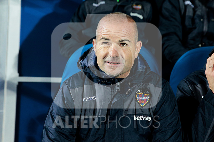 Levante UD's Paco Lopez during La Liga match between CD Leganes and Levante UD at Butarque Stadium in Leganes, Spain. March 04, 2019. (ALTERPHOTOS/A. Perez Meca)