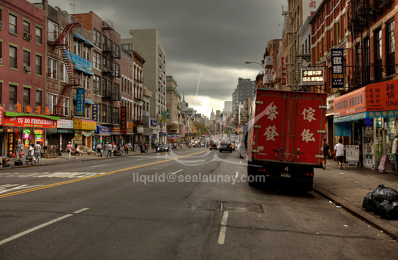 Chinatown, Manhattan, New York City.