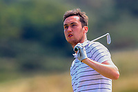 Colin Woodroofe (Dun Laoghaire) on the 15th tee during Round 2 - Strokeplay of the North of Ireland Championship at Royal Portrush Golf Club, Portrush, Co. Antrim on Tuesday 10th July 2018.<br /> Picture:  Thos Caffrey / Golffile