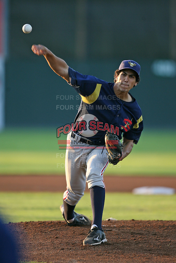 September 1, 2009:  Pitcher Jeff Inman of the State College Spikes during a game at Frontier Field in Rochester, NY.  State College is the NY-Penn League affiliate of the Pittsburgh Pirates.  Photo By Mike Janes/Four Seam Images