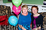 Siobhain Courtney and Catherine McGuire Killarney celebrated their retirement from St Columbanus in the Dromhall Hotel on Friday night