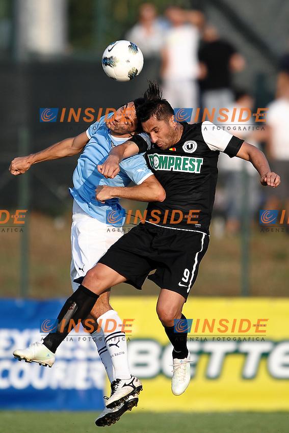 Giuseppe BIAVA Lazio.Fiuggi 5/8/2011 .Football / Calcio Friendly Match.Lazio Vs Cluj.Foto Insidefoto Andrea Staccioli