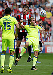 during the Championship match at Bramall Lane, Sheffield. Picture date 26th August 2017. Picture credit should read: Simon Bellis/Sportimage