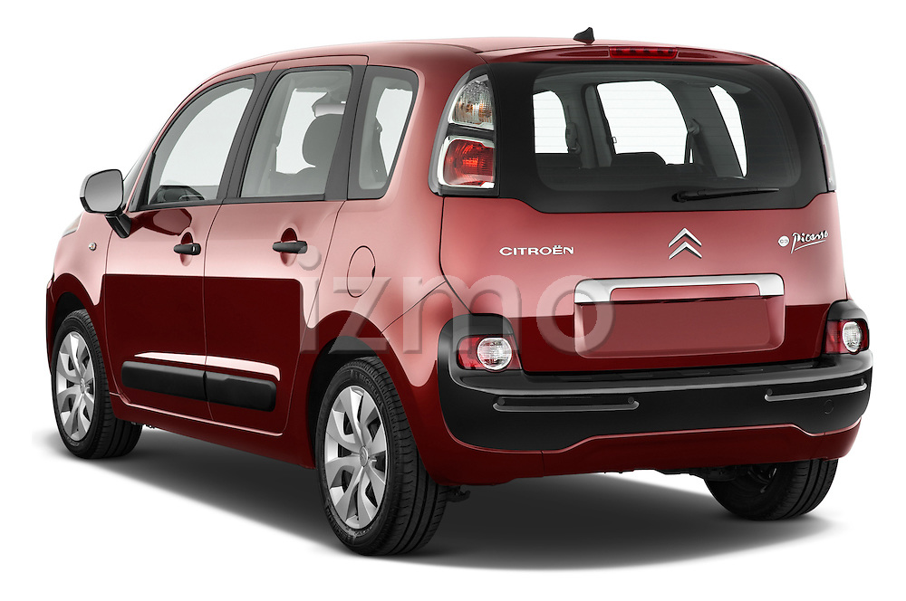 Rear three quarter view of a 2012 Citroen C3 PICASSO Millenium 5 Door Mini Mpv 2WD