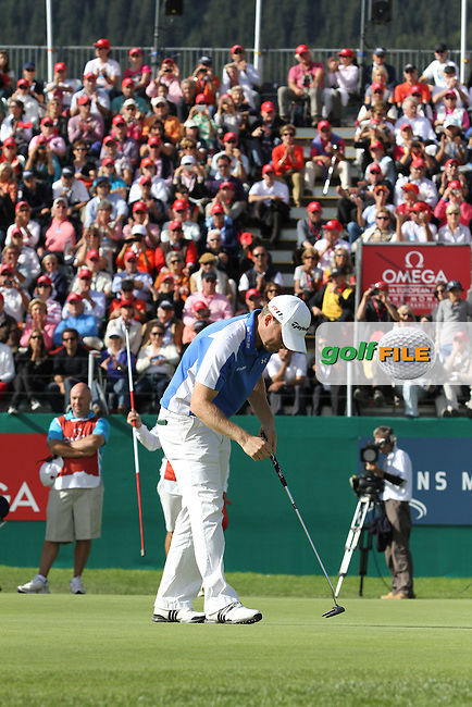 Richie Ramsay (SCO) wins 2012 Omega European Masters, Richie Ramsay in action on Day 4 of the Omega European Masters 2012, Golf Club Crans-Sur-Sierre, Crans Montana, Switzerland, 01/09/12...(Photo Jenny Matthews/www.golffile.ie)