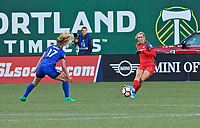 Portland, OR - Saturday May 06, 2017: Allie Long during a regular season National Women's Soccer League (NWSL) match between the Portland Thorns FC and the Chicago Red Stars at Providence Park.