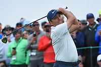 Francesco Molinari (ITA) looks over his tee shot on 9 during round 1 of the 2019 US Open, Pebble Beach Golf Links, Monterrey, California, USA. 6/13/2019.<br /> Picture: Golffile | Ken Murray<br /> <br /> All photo usage must carry mandatory copyright credit (© Golffile | Ken Murray)