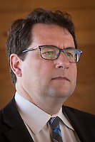 PQ MNA Bernard Drainville is pictured during the presentation of parti Quebecois candidates for the upcoming byelection Tuesday May 5, 2015.