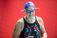 Picture By Allan Mckenzie/SWpix.com - 28/10/2017 - Swimming - Swim England Masters National Champs - Ponds Forge International Sports Centre, Sheffield, England - Diane Ford.