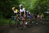 Robert Wagner (DEU/LottoNL-Jumbo) &amp; Marco Coledan (ITA/Trek Factory Racing) leading a grupetto to the finish<br />  <br /> stage 4: Hotel Verviers - La Gileppe (187km)<br /> 29th Ster ZLM Tour 2015