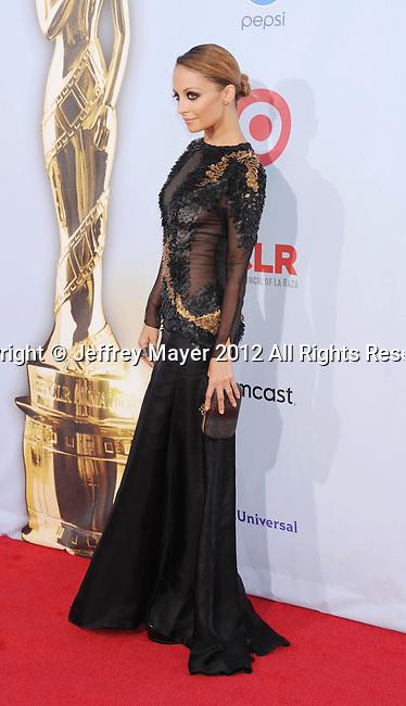 PASADENA, CA - SEPTEMBER 16: Nicole Richie arrives at the 2012 NCLR ALMA Awards at Pasadena Civic Auditorium on September 16, 2012 in Pasadena, California.