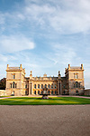 Grimsthorpe, United Kingdom, 15th August 2019, A view of Grimsthorpe Castle in Lincolnshire, Credit:Jonathan Clarke/JPC Images