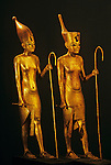 Gilded wood figures of Pharaoh,Tutankhamun and the Golden Age of the Pharaohs, Page 180