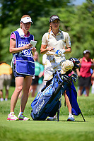 Klara Spilkova (CZE) prepares to tee off on 2 during Saturday's round 3 of the 2017 KPMG Women's PGA Championship, at Olympia Fields Country Club, Olympia Fields, Illinois. 7/1/2017.<br /> Picture: Golffile | Ken Murray<br /> <br /> <br /> All photo usage must carry mandatory copyright credit (&copy; Golffile | Ken Murray)