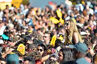 SÃO PAULO, SP, 06.04.2014 - LOLLAPALOOZA 2014 - SHOW ELLIE GOULDING - A cantora Ellie Gouding se apresenta no segundo dia do Festival Lollapalooza 2014, realizado no Autódromo de Interlagos, zona sul de São Paulo na tarde deste domingo (06). (Foto: Levi Bianco / Brazil Photo Press).