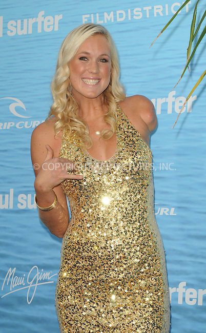 WWW.ACEPIXS.COM . . . . . ....March 30 2011, Los Angeles....Surfer Bethany Hamilton arriving at the premiere of TriStar Pictures' 'Soul Surfer' at the ArcLight Cinerama Dome on March 30, 2011 in Hollywood, California.....Please byline: PETER WEST - ACEPIXS.COM....Ace Pictures, Inc:  ..(212) 243-8787 or (646) 679 0430..e-mail: picturedesk@acepixs.com..web: http://www.acepixs.com