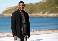 Denzel Wahington presents the film 'The Equalizer during the 62st San Sebastian
