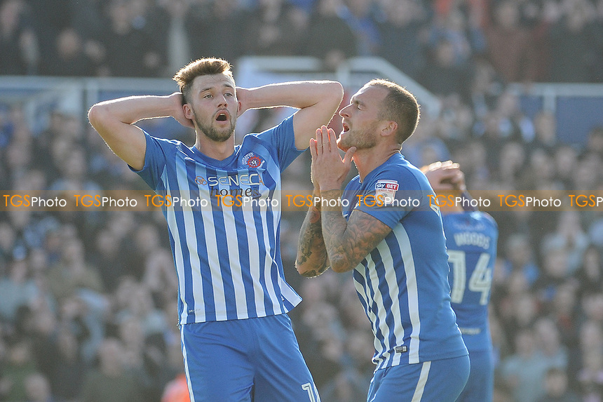 A frustrate Lewis Alessandra of Hartlepool United during Hartlepool United vs Doncaster Rovers, Sky Bet EFL League 2 Football at Victoria Park on 6th May 2017
