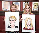 Sardi's Portrait unveilings for Laura Linney and Cynthia Nixon