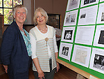 Sheila Scanlon and Fiona Ahern pictured at the exhibition of Hilltown House at Bellewstown parish hall. Photo: www.pressphotos.ie