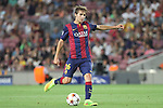 17.09.2014 Barcelona, Spain. Champions League Groups. Picture show Sergi Samper in action during game beteween FC Barcelona against Apoel at Camp Nou