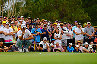 Wade Ormsby (AUS) on the 18th green during round 4 of the Australian PGA Championship at  RACV Royal Pines Resort, Gold Coast, Queensland, Australia. 22/12/2019.<br /> Picture TJ Caffrey / Golffile.ie<br /> <br /> All photo usage must carry mandatory copyright credit (© Golffile   TJ Caffrey)