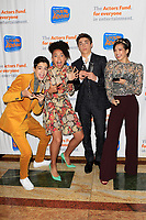 LOS ANGELES - OCT 28: Joshua Rush, Sofia Wylie, Asher Angel, Peyton Elizabeth Lee at The Actors Fund's 2018 Looking Ahead Awards at the Taglyan Complex on October, 2018 in Los Angeles, California