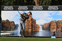 Gareth Paddison (NZL) in action on the 12th during Round 2 of the ISPS Handa World Super 6 Perth at Lake Karrinyup Country Club on the Friday 9th February 2018.<br /> Picture:  Thos Caffrey / www.golffile.ie<br /> <br /> All photo usage must carry mandatory copyright credit (&copy; Golffile | Thos Caffrey)