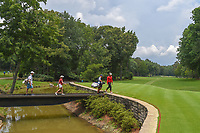 Wichanee Meechai (THA) and Ceilia Barquin Arozamena (a)(ESP) make their way to the tee on 11 during round 2 of the U.S. Women's Open Championship, Shoal Creek Country Club, at Birmingham, Alabama, USA. 6/1/2018.<br /> Picture: Golffile | Ken Murray<br /> <br /> All photo usage must carry mandatory copyright credit (&copy; Golffile | Ken Murray)