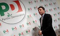20131209 ROMA-POLITICA: IL NUOVO SEGRETARIO DEL PD MATTEO RENZI INCONTRA LA STAMPA