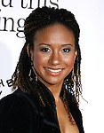 """HOLLYWOOD, CA. - October 20: Actress Tracie Thoms arrives at the Los Angeles Premiere of """"Zack And Miri Make A Porno"""" at Grauman's Chinese Theater in Hollywood, California."""