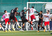 Washington, DC - August 5, 2017: D.C. United tied Toronto FC 1-1 during their Major League Soccer (MLS) match at RFK Stadium.