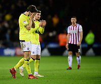 Blackburn Rovers' Charlie Mulgrew at the end of the game<br /> <br /> Photographer Chris Vaughan/CameraSport<br /> <br /> The EFL Sky Bet Championship - Sheffield United v Blackburn Rovers - Saturday 29th December 2018 - Bramall Lane - Sheffield<br /> <br /> World Copyright © 2018 CameraSport. All rights reserved. 43 Linden Ave. Countesthorpe. Leicester. England. LE8 5PG - Tel: +44 (0) 116 277 4147 - admin@camerasport.com - www.camerasport.com